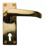 Cardea Brass Lever Lock Set