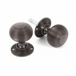Beehive Door Knobs - Bronze