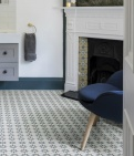 Atlas Denim Pattern Tile