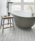 Atlas Soft Grey Pattern Tile