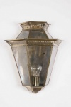 Bevelled Glass Wall Lantern