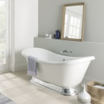BC Designs Excelsior Acrylic Bath with Plinth