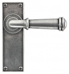 Finesse Durham Lever Handle - Latch Backplate
