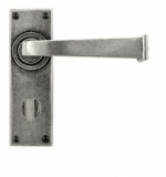 Finesse - Allendale Lever on Bathroom Backplate