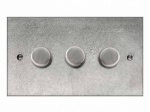 Finesse Triple Dimmer Switch Coverplate