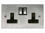 Finesse Double Wall Socket Coverplate