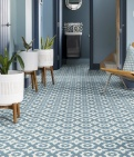 Floris Denim Pattern Tile