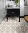 Floris Rose Pattern Tile