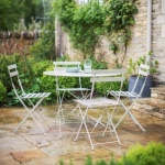 Rive Droite Bistro Set Table and 4 Chairs - Clay