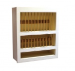 Fitted Kitchen Plate Rack Tall (650)