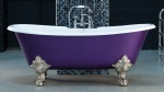Milan Cast Iron Bath Double Ended With Curved Ends