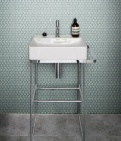 Yoga Penny Porcelain Mosaic Mint Green