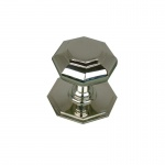 Octagonal Door Pull Nickel