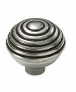 Finesse Beehive - Genuine Pewter Cabinet Knob (2 part)