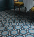 Patisserie Blue Pattern Tile