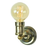 Tommy Fixed Wall Light - Antique Brass