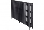 Victorian 3 Cast Iron Radiators 735mm - 19 Section