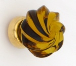 Whirl Glass Cupboard Knobs