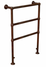 Beckingham Heated Towel Rail Copper