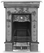 The Bella Cast Iron Fireplace - Small