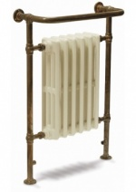 Broughton Heated Towel Rail Copper