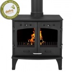 Carron 11KW Stove Matt Black