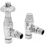 Carron Crocus Chrome Thermostatic Radiator Valves