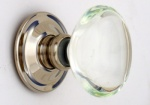 Oval Glass Door Knobs