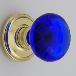 Chequerboard Glass Door Knobs