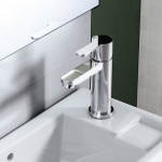 Crystal Clearwater Basin Mixer With Pop-Up Waste