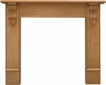 The Edinburgh Corbel Fire Surround - pine