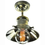 Edison Small Flush Ceiling Light