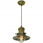 Edison Small Single Pendant
