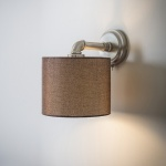 Hotel Wall Light - Matt Nickel