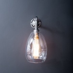 Jules Wall Light Clear Glass