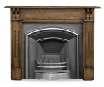 The London Plate Cast Iron Fireplace Package