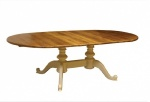 Double Pedestal Extending Table 4x6-8'