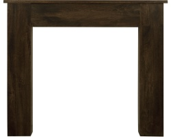 New England Wooden Fireplace Surround