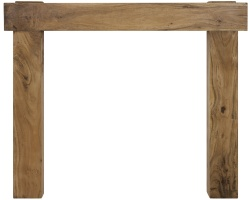 New York Wooden Fireplace Surround
