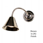 Map Room Flexi Wall multi adjustable light - Polished Nickel