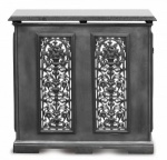 2 Panel Cast Iron Radiator Cover  Small