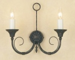 Smithbrook Classica Twin wall Light