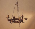 Smithbrook Refectory 3 Light 3 Candle Pendant