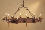 Smithbrook Refectory 6 Light 6 Candle Pendant
