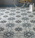 Encaustic Toulon Pattern Tile