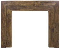 Vermont Wooden Fireplace Surround