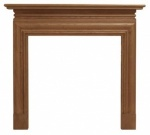 The Wessex Fire Surround - Oak