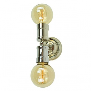 Tommy Double Wall/Ceiling Light - Polished Nickel