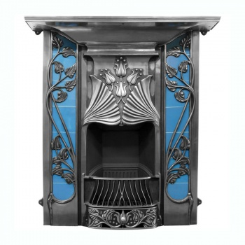 Toulouse Cast Iron Combination Fireplace