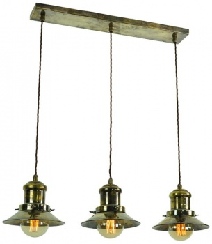Edison 3 Light Pendant